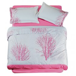 Σετ Σεντόνια Das Home Satin Line Embroidery 8140