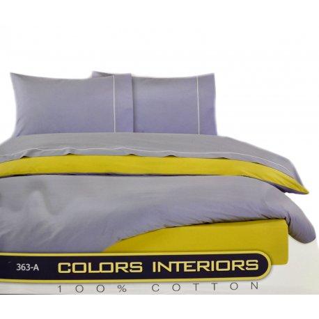 ΣΕΤ ΣΕΝΤΟΝΙΑ ΜΟΝΑ COLORS INTERIORS 363-100% cotton