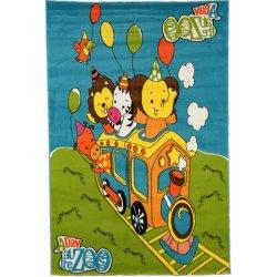 Παιδικά Χαλιά Colours A417 Green 1,33X1,90