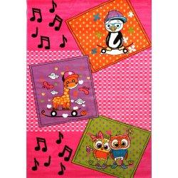 Παιδικά Χαλιά Colours A172 Rose