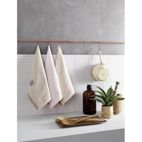 Σετ πετσέτες κουζίνας 3 τεμαχίων-Trebbiano 01 Nima Home.