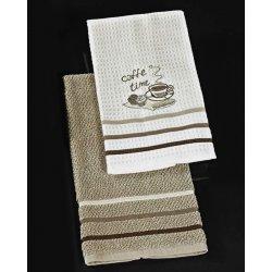 Πετσέτες κουζίνας 2 τεμαχίων-Caffeina American Nima Home.