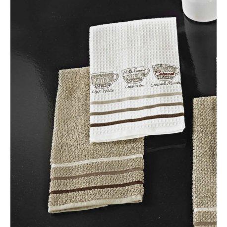 Πετσέτες Κουζίνας 2 Τεμαχίων-Caffeina Ristretto Nima Home.