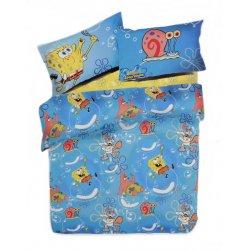 Σετ Παπλωματοθήκη Παιδική Bob Sponge 501-KENTIA