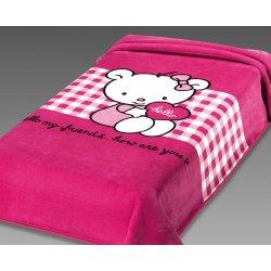 Κουβέρτα Παιδική Ισπανίας Belpla Ster 272 Fuchsia
