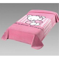 Κουβέρτα Παιδική Ισπανίας Belpla Ster 272 Pink