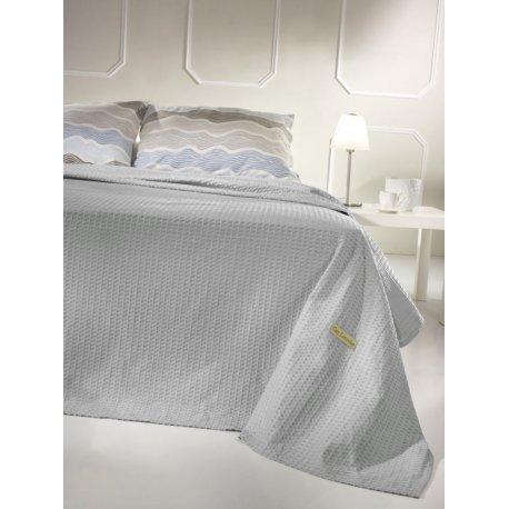 Πικέ Κουβέρτα Guy Laroche-Galaxy Silver 1,60X2,40