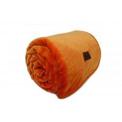 Κουβέρτα Ακρυλική Βελουτέ Nef-Nef Star Orange 1,60x2,30