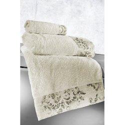 Σετ Πετσέτες 3 τεμαχίων Guy Laroche Style Ivory