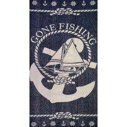 Πετσέτα Θαλάσσης Gone Fishing