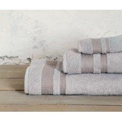 Πετσέτα Μπάνιου 0,70x1,40 της Nima-Home Juniper Light Gray