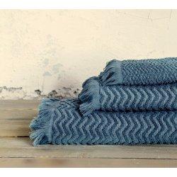 Πετσέτα Προσώπου 0,50x0,90 της Nima Home-Contour Blue