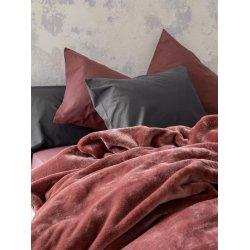 Κουβέρτα Βελουτέ Nima Home Coperta Terracotta 1,60x2,20
