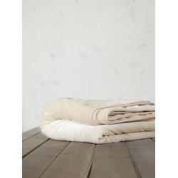 Κουβέρτα Βελουτέ Nima Home Coperta Light Beige 1,60x2,20
