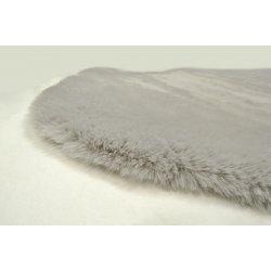 Γούνινο Χαλάκι Puffy Grey 0,80x1,20