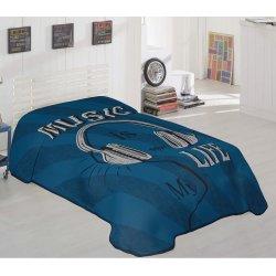 Κουβέρτα Βελουτέ Μονή Beauty Home 6116