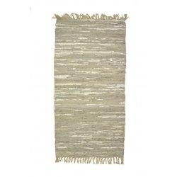 Δερμάτινο χαλί 0,70x1,40 30210 Grey