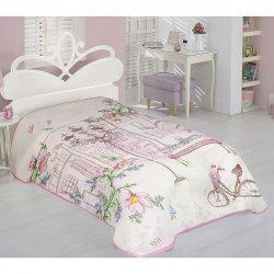 Κουβέρτα Βελουτέ Μονή Beauty Home 6107