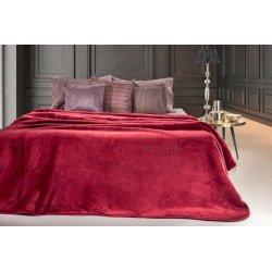 Κουβέρτα Μονή Guy Laroche Smooth Bordeaux