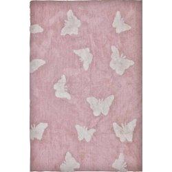 Βαμβακερά Χαλιά Piccolo Butterflies Pink