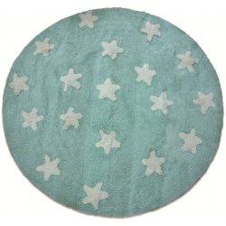 Βαμβακερά Χαλιά Στρογγυλά Piccolo Stars Veraman
