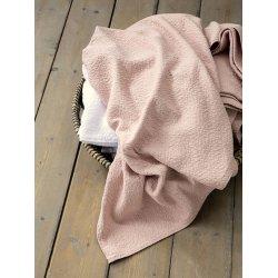 Κουβέρτα Βαμβακερή Skylar Powder Pink-Nima Home